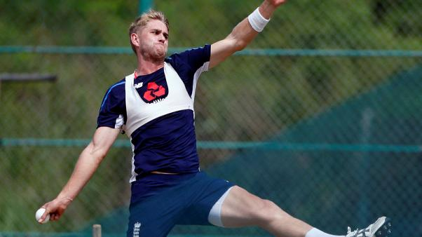 Cricket - England's Stone out of West Indies tour with back injury