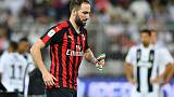 Chelsea agree Higuain loan from Juventus - reports
