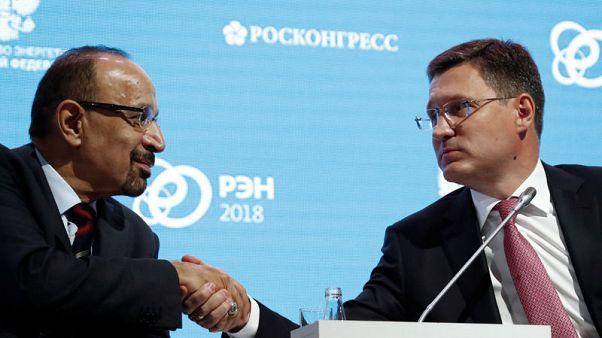 تقرير: وزير الطاقة الروسي يعتزم لقاء نظيره السعودي في دافوس