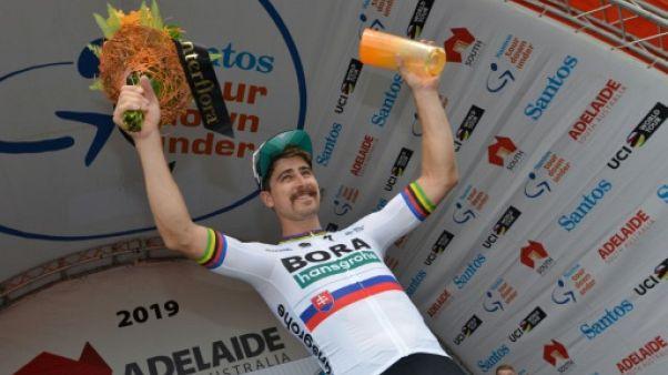 Tour Down Under: Sagan gagne la 3e étape et grimpe au 2e rang du général