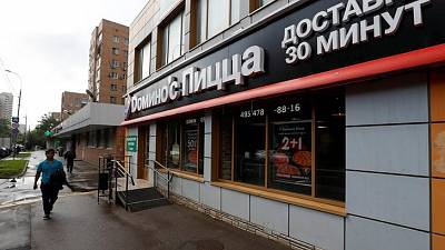 Pizza firm DP Eurasia says 2018 sales up 31 percent as added more outlets