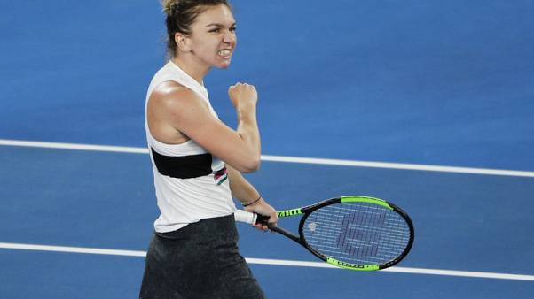 Top seed Halep digs deep against impressive Kenin to advance