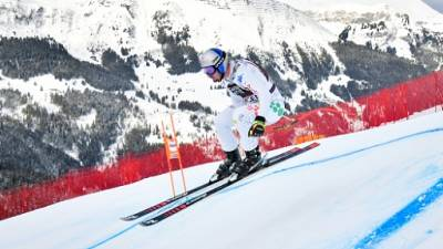 Ski: Paris, meilleur temps du 2e entraînement de la descente devant Clarey à Wengen