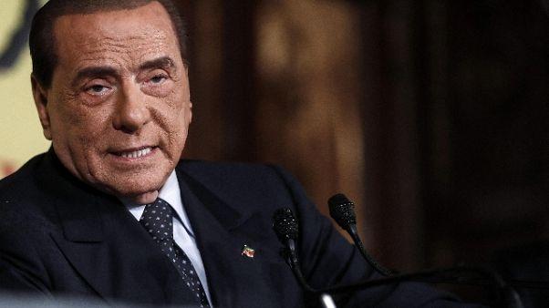 Berlusconi, mi candido a europee