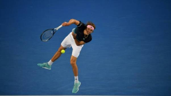 Open d'Australie: Zverev bousculé par Chardy