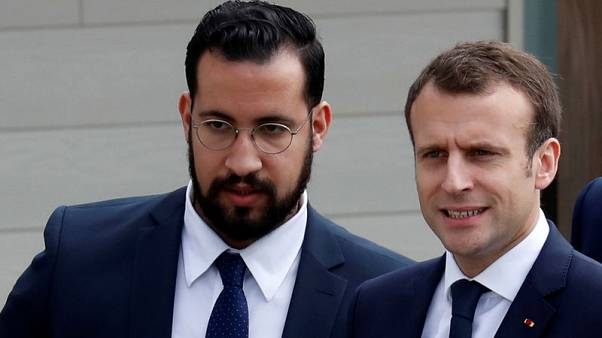 Macron's ex-bodyguard in custody over use of diplomatic passports