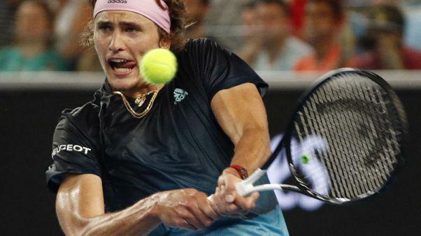 Wasteful Zverev reaches third round after five-set battle
