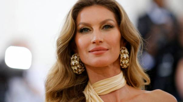 Supermodel Bundchen responds to Brazil's farm minister in Amazon spat