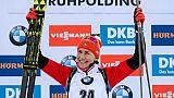 Biathlon: victoire de Kuzmina au sprint de Ruhpolding, 3 Bleues dans le Top 10