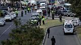 Car bomber kills 10 in Colombia police academy attack