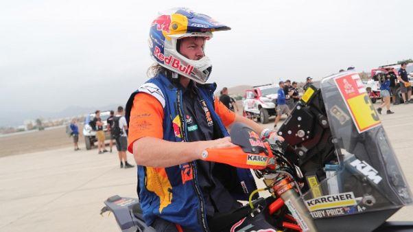 Dakar: moto, a Price l'edizione del 2019