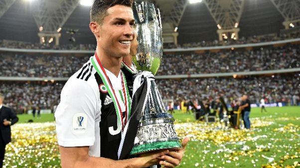 Anche Mayweather fa festa con C.Ronaldo