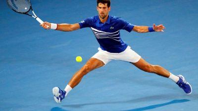 Open d'Australie: Djokovic maîtrise Tsonga, Zverev et Halep bataillent