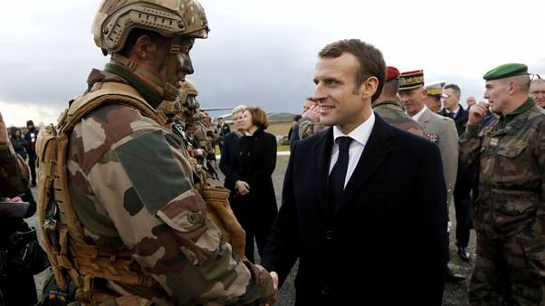French military to continue Islamic State fight in Levant - Macron