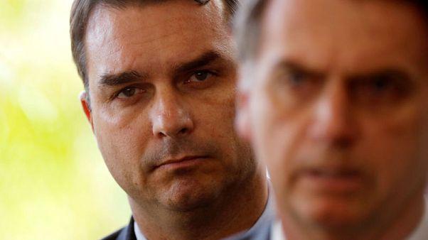 Brazil prosecutors suspend probe into funds handled by ex-driver of Bolsonaro's son