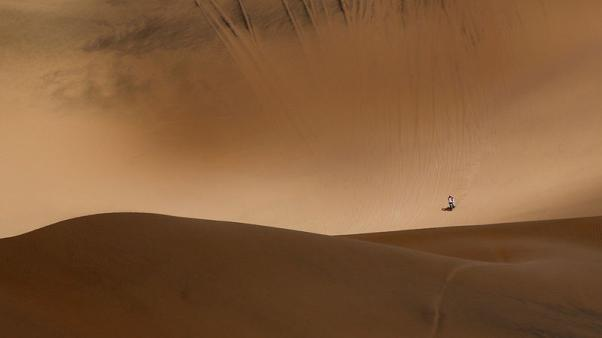 The Dakar, a world of sand and solitude