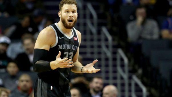 NBA: Griffin mis à l'amende pour avoir insulté un arbitre