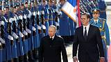 Beset by protests, Serb leader stages lavish reception for Putin