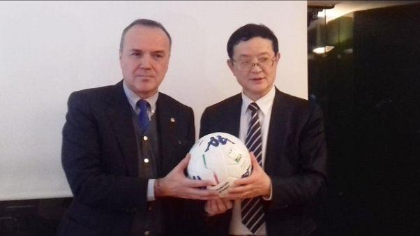 Delegazione Chinese League da Balata
