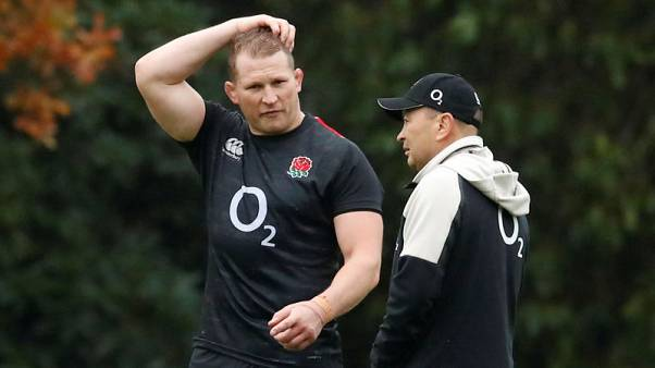 Rugby - Hartley's halo slipping as Jones omits skipper