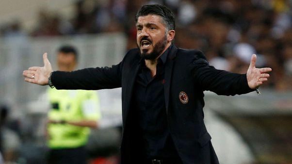 AC Milan coach Gattuso handed one-game ban for threatening behaviour