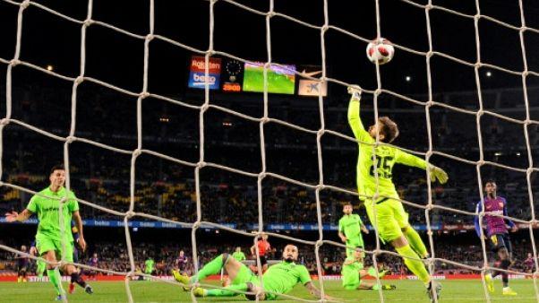 Coupe du Roi: le Barça en quarts aux dépens de Levante, qui fera appel