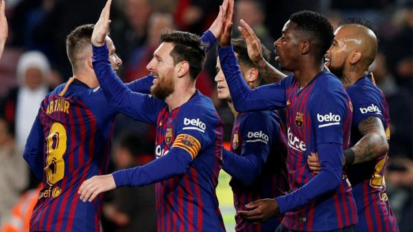 Dembele and Messi see off Levante but Barca Copa hopes in doubt