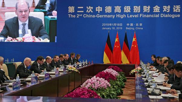 Germany, China to sign pacts during finance minister's Beijing visit