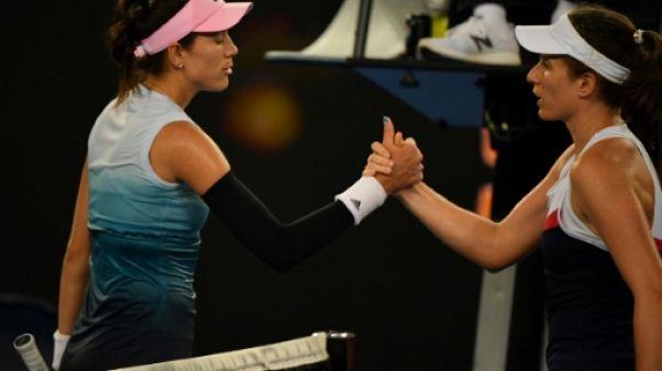 """Open d'Australie: """"Dangereux"""" de jouer aussi tard, déplore Konta"""