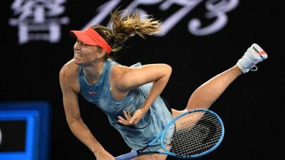Open d'Australie: Sharapova stoppe la tenante du titre Wozniacki au 3e tour
