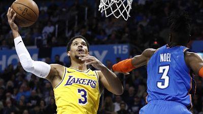 Nba, vincono Toronto Denver e Lakers