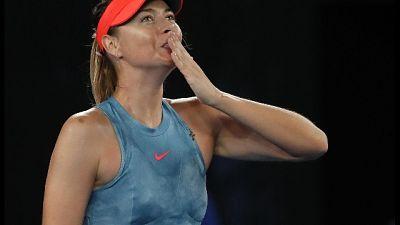 Aus Open, Sharapova show,fuori Wozniacki