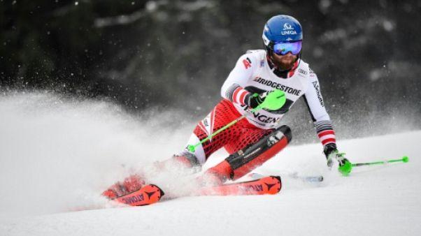 Combiné de Wengen: Schwarz en tête après le slalom, Pinturault 2e