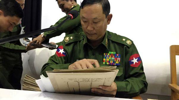 Myanmar army kills 13 rebels in Rakhine clashes - military spokesman