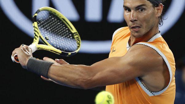 Nadal subdues local hope de Minaur in third round clash