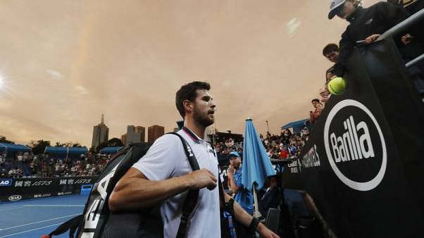 Khachanov 'ashamed' after early exit from Australian Open