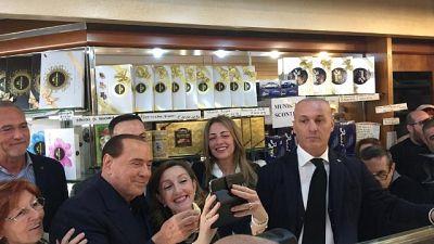 Berlusconi,alle Europee non temo Salvini