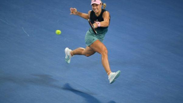 Open d'Australie: Kerber ne perd qu'un jeu