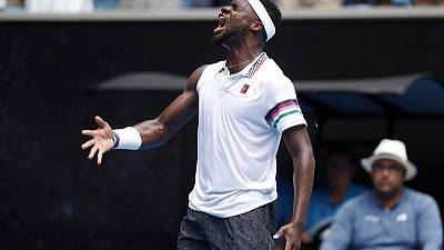 Tiafoe rips into fourth round with LeBron James-inspired celebration