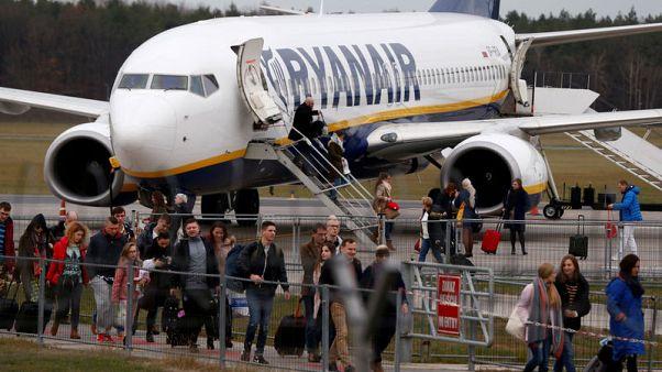 British pilots union says won't negotiate with Ryanair