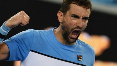 Open d'Australie: Cilic à un point de la défaite contre Verdasco
