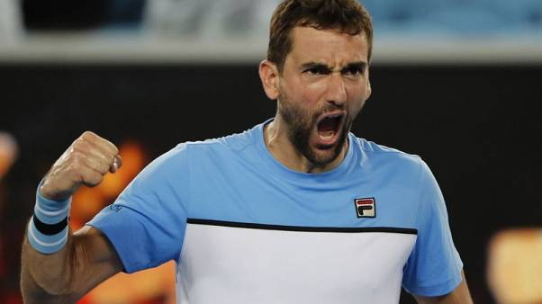 Cilic survives after Verdasco double-faults on match point