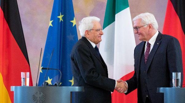 Steinmeier, a Ue serve contributo Italia