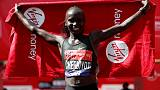 Defending champion Cheruiyot leads elite women's lineup at London Marathon