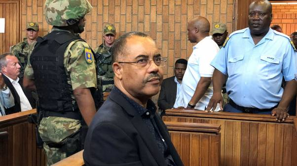 Jailed ex-Mozambican finance minister drops South Africa bail plan