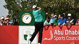 L'Irlandais Shane Lowry en tête de l'Open d'Abou Dhabi, le 18 janvier 2019