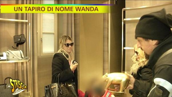 "'Tapiro' a Wanda Nara, ""Icardi? rinnova"""