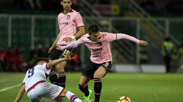 Serie B: Palermo-Salernitana 1-2