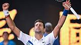 Open d'Australie: Djokovic perd un set contre Shapovalov