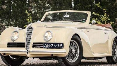 Trovata auto rubata storica Mille Miglia